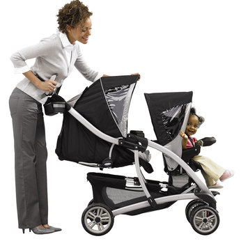 Graco Quattro Tour Duo Twin Pushchair in Granite - review ...