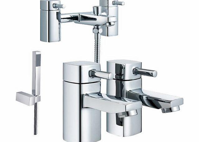 Grand Taps Bathroom Bath Shower Mixer Amp Pair Of Basin