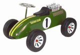 Classic Childrens Pedal F1 Racer Car - Green
