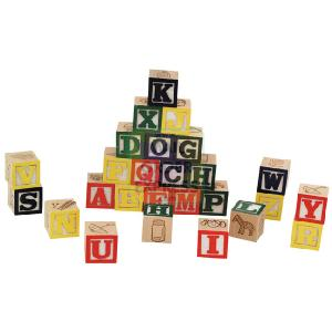 Toy Box A-Z Alphabet Blocks