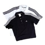 Adidas Essentials 3S Polo Shirt (Black/White Large) - CLICK FOR MORE INFORMATION