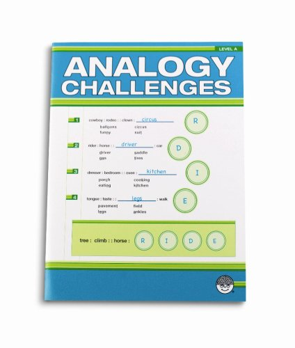 Analogy Challenges A - CLICK FOR MORE INFORMATION