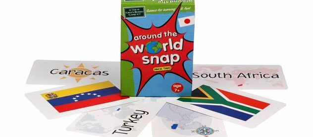Around the World Snap - Pack 2 - CLICK FOR MORE INFORMATION