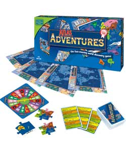 Atlas Adventures Board Game - CLICK FOR MORE INFORMATION