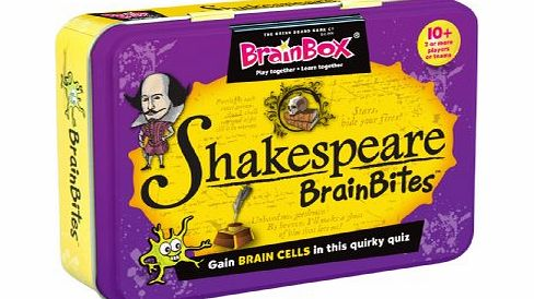 brainbites shakespeare - CLICK FOR MORE INFORMATION