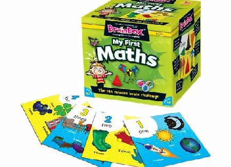 BrainBox My First Maths Game - CLICK FOR MORE INFORMATION