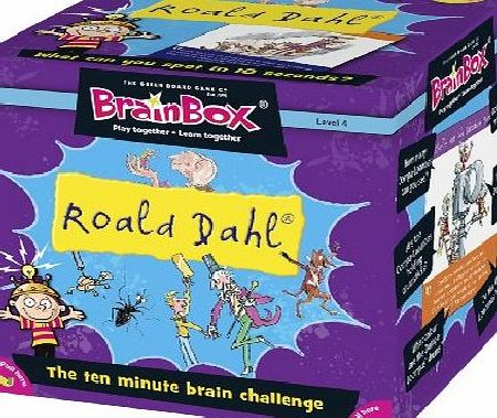 BrainBox Roald Dahl Game - CLICK FOR MORE INFORMATION