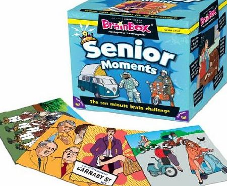 BrainBox Senior Moments Game - CLICK FOR MORE INFORMATION
