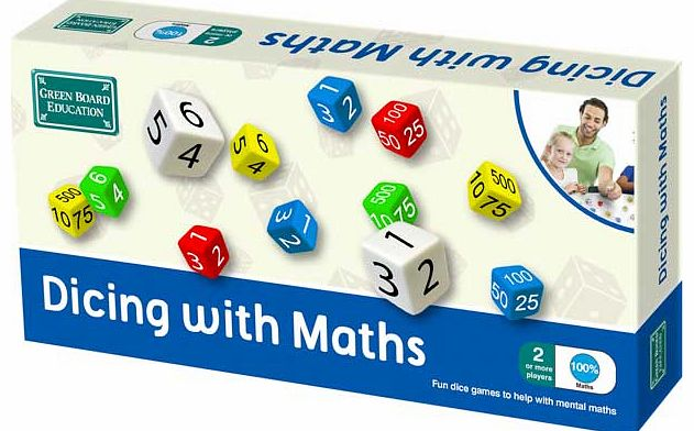 Dicing with Maths Game - CLICK FOR MORE INFORMATION