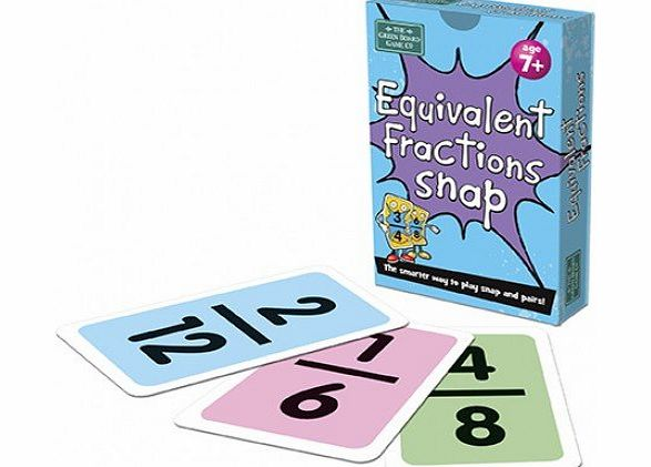 Equivalent Fractions Snap Card Game - CLICK FOR MORE INFORMATION