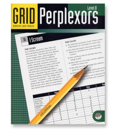Mindware - Grid Perplexors Level B - CLICK FOR MORE INFORMATION