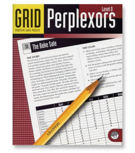 Mindware - Grid Perplexors Level D - CLICK FOR MORE INFORMATION