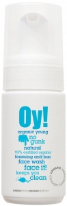 Thoroughly cleanse your pores with the Green People Oy! Foaming Anti-Bac Face Wash. Featuring tea tree extracts to provide an antibacterial element it helps to control bacteria on the skin. - CLICK FOR MORE INFORMATION
