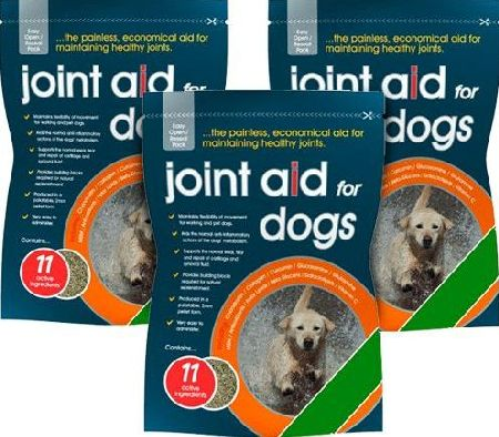 Gro Well, 2102[^]0069509 Joint Aid For Dogs - Triple Pack