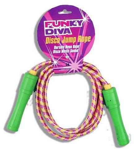 Grossman funky diva musical skipping rope childrens gift for Funky diva
