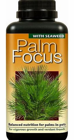 Growth Technology Ltd Palm Focus Unique Liquid Concentrated Fertiliser 500ml