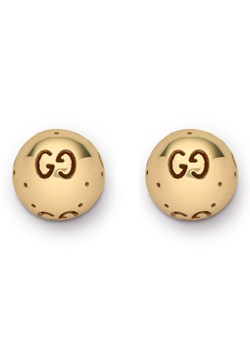 Gucci Icon Bold 18ct Gold Boule Earrings