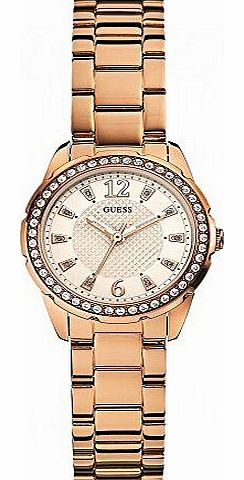 Guess Watches Ladies Desire Rose Gold Sport Analog Watch product image