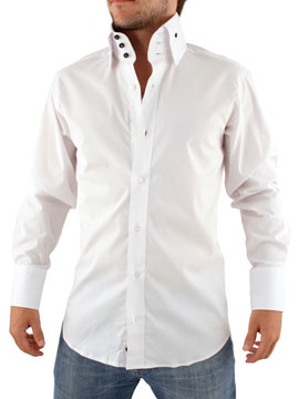 Guide London White Westwood Collar Shirt - review, compare prices ...