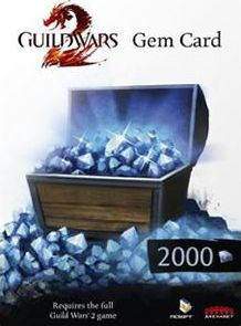 Guild Wars 2-NC Soft, 1559[^]30025-DIGITAL Guild Wars 2 2000 Gems Card