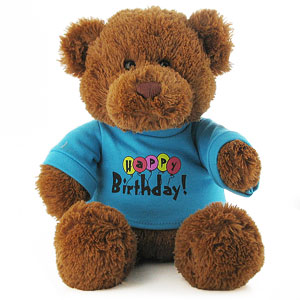 Gund Happy Birthday Teddy Bear