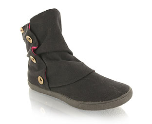 Guppy Love Button Trim Ankle Boot