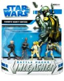 Ha$bro Star Wars Unleashed Battle Packs Vaders Bounty Hunters Action Figure product image