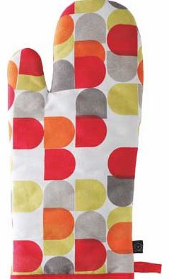 Habitat Arca Multi-Coloured Oven Glove