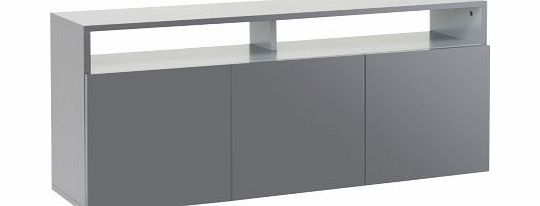 habitat kubrik large sideboard grey review compare. Black Bedroom Furniture Sets. Home Design Ideas