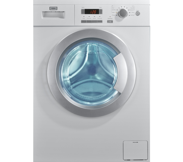 haier hw801403du washing machine review compare prices buy online. Black Bedroom Furniture Sets. Home Design Ideas