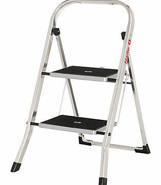 Hailo K30 Aluminium Step Stool 4 Step Stool Hailo K30
