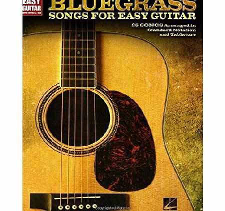 Hal Leonard Bluegrass Songs For Easy Guitar (Easy Guitar with Notes amp; Tab) product image