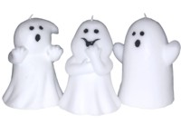 Light up your Halloween event with one of these cute assorted ghost candles. - CLICK FOR MORE INFORMATION
