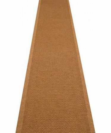 Hallway Runners 47 Sizes Available - Aztec Beige - Sisal Style Carpet Runner Rug Door Mat - Any Length Runners for Hall, Hallways, Passage, Corridor, Kitchen, Caravans product image