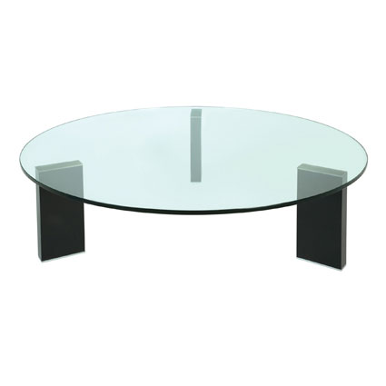 Coffee Tables Round Glass Top Coffee Table