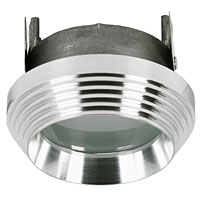 Aurora Polished Aluminium Shower Light MR16 12V