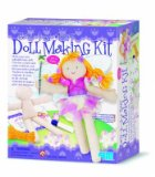 Doll Making Kit - Fairy - Childs Creative Activity Kit - Childrens Arts and Crafts