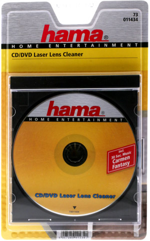 hama CD and DVD Laser Lens Cleaning Disc - Ref 11434 product image
