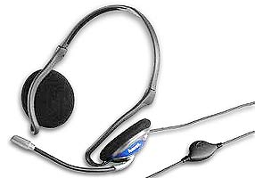 hama Headset (Stereo) with Microphone CS-498 (VoIP and Skype compatible) - 42498 product image