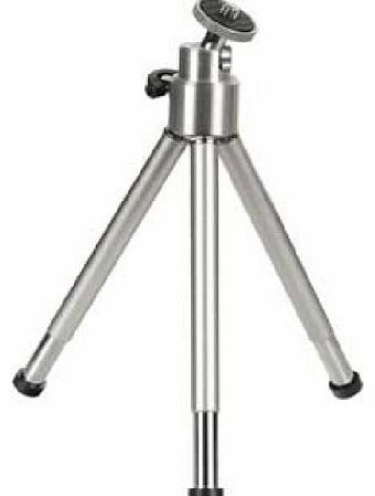 Hama Mini Tripod with Ball Tilt Head, silver