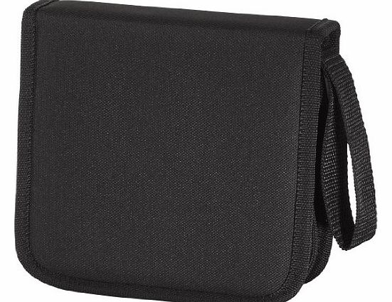 Hama Nylon 32 CD/DVD Wallet - Black
