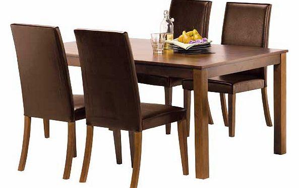 Solid Wood Walnut Table