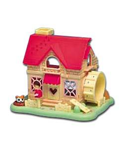 Hamtaro Ham Ham House Playset Dolls House
