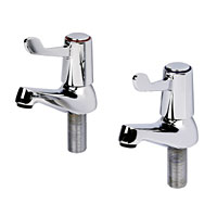 Stylish lever basin taps with quarter-turn operation, suitable for the less able. Turn OperationWRAS ApprovedBS5412 - CLICK FOR MORE INFORMATION