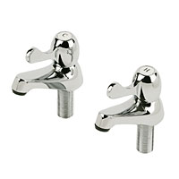 Stylish and modern chrome-plated Taps with ceramic discs and quarter-turn operation. BS 5412. - CLICK FOR MORE INFORMATION