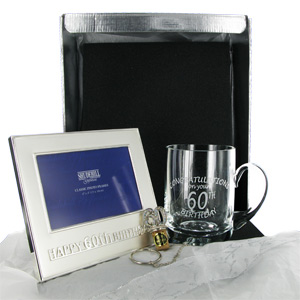 happy 60th Birthday Gift Pack Male