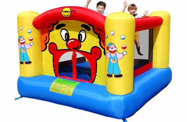 Compare prices of bouncy castles read bouncy castle for Happy hop clown bouncy castle