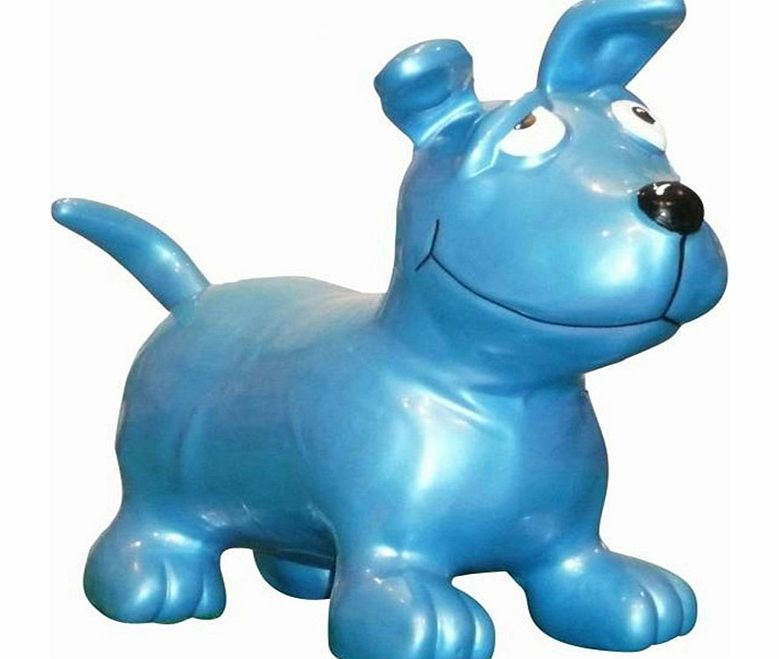 Happy Dog With Toy Happy Hopperz Blue Dog 2014 Jpg