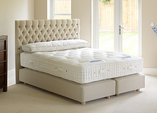 Harrisons divan beds for Double divan set