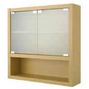 Beech bathroom cabinets for Beech kitchen wall cupboards